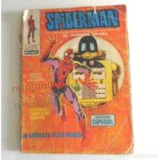 Cómics: SPIDERMAN EL HOMBRE ARAÑA AMENAZA ELECTRÓNICA - CÓMIC VÉRTICE AÑOS 70 SPIDER MAN EPISODIOS INÉDITOS. Lote 177040073
