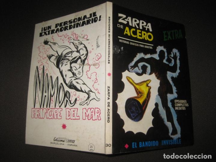 ZARPA DE ACERO Nº 30. EXTRA. TACO. EDICIONES VERTICE 1970. (Tebeos y Comics - Vértice - Otros)