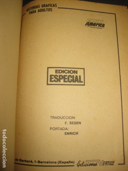 Cómics: CAPITAN AMERICA Nº 7. TACO. EDICIONES VERTICE 1970. - Foto 2 - 177184122