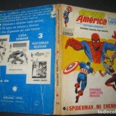 Cómics: CAPITAN AMERICA Nº 18. TACO. EDICIONES VERTICE 1971.. Lote 177184700