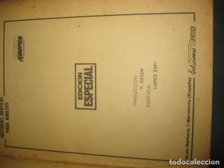 Cómics: CAPITAN AMERICA Nº 9. TACO. EDICIONES VERTICE 1970. - Foto 2 - 177184868
