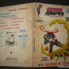 Cómics: CAPITAN AMERICA Nº 9. TACO. EDICIONES VERTICE 1970.. Lote 177184868