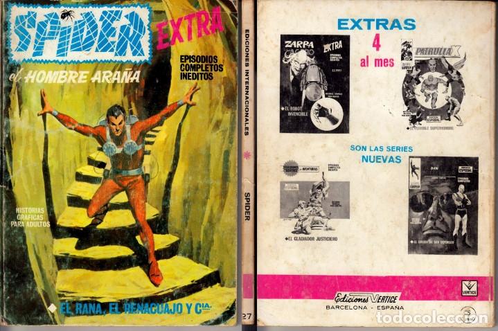 VERTICE V1 SPIDER 27 (Tebeos y Comics - Vértice - Fleetway)