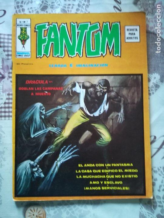 FANTOM V 2 Nº 7 (Tebeos y Comics - Vértice - Terror)