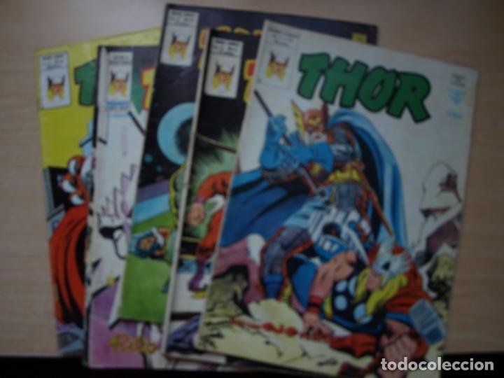 THOR - LOTE DE 6 NÚMEROS - VERTICE - VER TODAS LAS PORTADAS Y NÚMERACION (Tebeos y Comics - Vértice - Thor)
