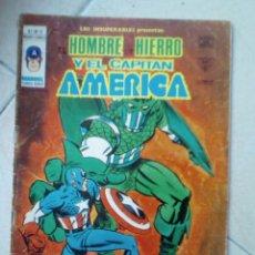 Cómics: LOS INSUPERABLES NÚM 12, VOL 1. EL HOMBRE DE HIERRO. VÉRTICE. Lote 177388823