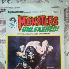 Cómics: ESCALOFRIO Nº 9 MONSTERS UNLEASHED Nº 3. Lote 177408908