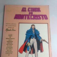 Cómics: MUNDI COMICS CLASICOS , EL CONDE DE MONTECRISTO. Lote 177414030