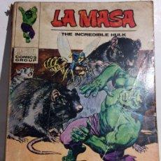 Cómics: ANTIGUO COMIC DE MARVEL LA MASA Nº 26, ORIGINAL - FLA. Lote 177556517
