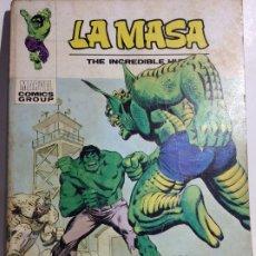 Cómics: ANTIGUO COMIC DE MARVEL LA MASA Nº 34, ORIGINAL - FLA. Lote 177557139