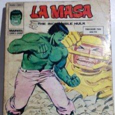 Cómics: ANTIGUO COMIC DE MARVEL LA MASA Nº 35, ORIGINAL - FLA. Lote 177557272
