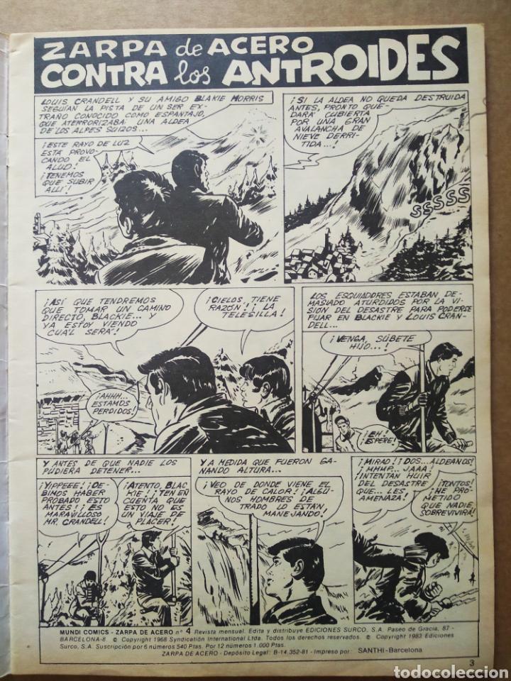 Cómics: Lote Zarpa de Acero, números 1-2-3-4-5 (Ediciones Surco, 1983). Línea 83 / Surco. - Foto 6 - 133460235