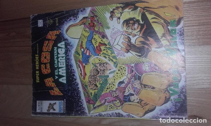 COMIC TEBEO EDICIONES VERTICE SUPER HEROES PRESENTA LA COSA Y EL CAPITAN AMERICA VOL 2 - 103 (Tebeos y Comics - Vértice - Super Héroes)