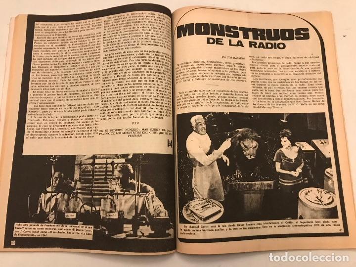 Cómics: RELATOS SALVAJES Nº 1. MONSTERS OF THE MOVIES KING KONG. VERTICE 1974 - Foto 3 - 177658143