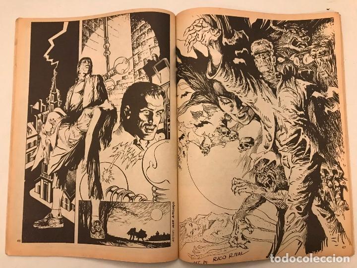 Cómics: RELATOS SALVAJES Nº 20. MONSTERS OF THE MOVIES LA MOMIA. VERTICE 1975 - Foto 2 - 177658215