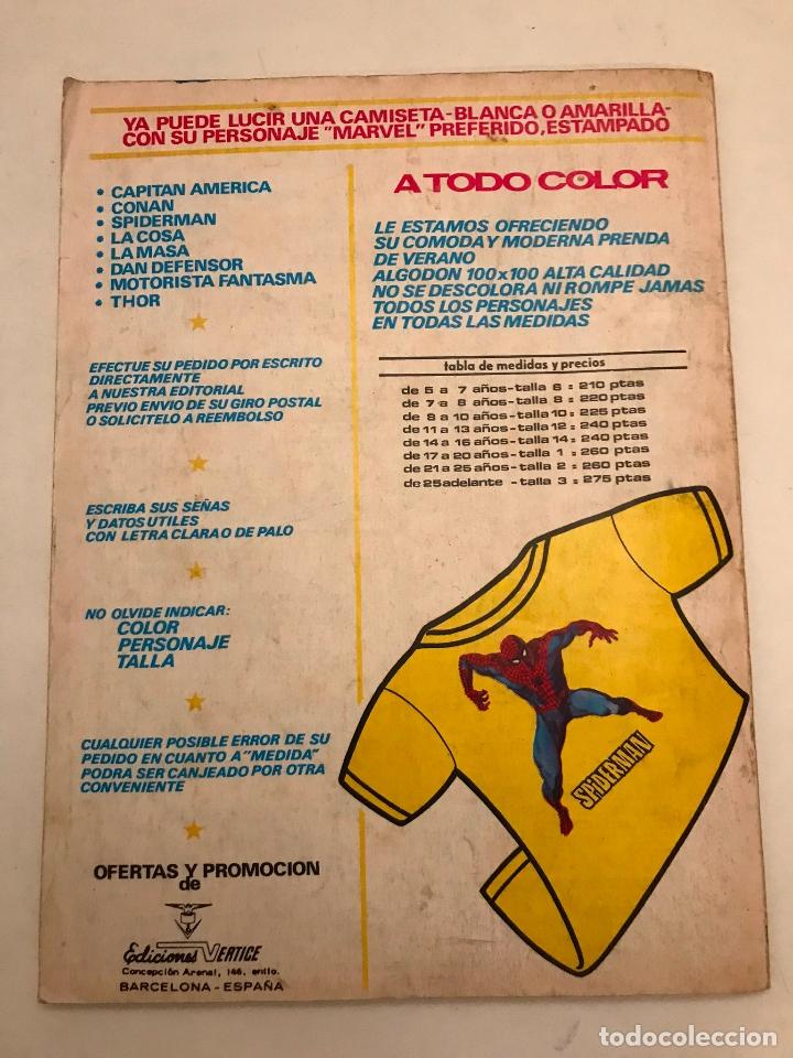 Cómics: RELATOS SALVAJES Nº 20. MONSTERS OF THE MOVIES LA MOMIA. VERTICE 1975 - Foto 3 - 177658215