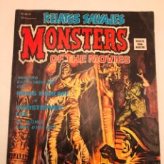 Cómics: RELATOS SALVAJES Nº 20. MONSTERS OF THE MOVIES LA MOMIA. VERTICE 1975. Lote 177658215
