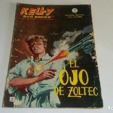Cómics: KELLY OJO MAGICO Nº 1 EL OJO DE ZOLTEC - EDICIONES VERTICE 1965. Lote 177670727