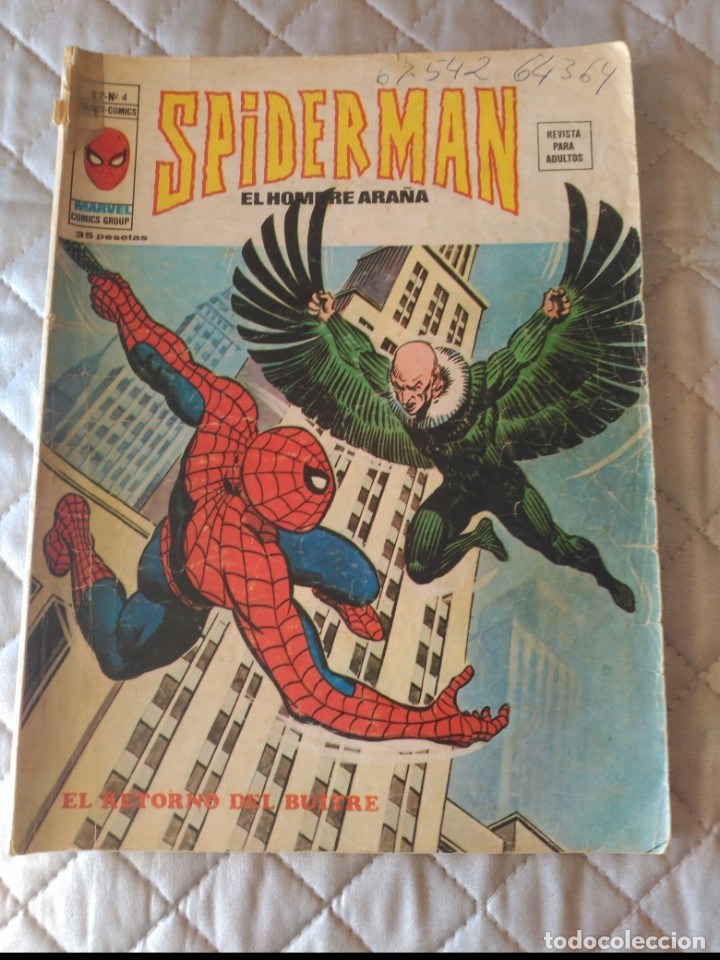 SPIDERMAN VOL.3 Nº4 (Tebeos y Comics - Vértice - V.3)