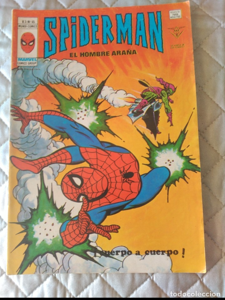 SPIDERMAN VOL.3 Nº45 (Tebeos y Comics - Vértice - V.3)