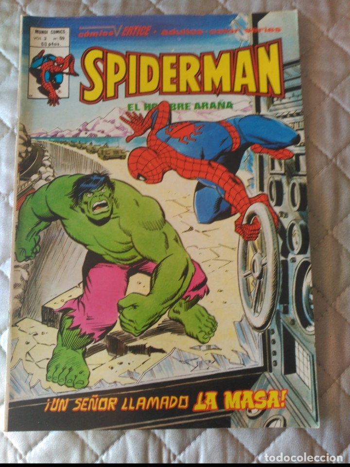SPIDERMAN VOL.3 Nº59 (Tebeos y Comics - Vértice - V.3)