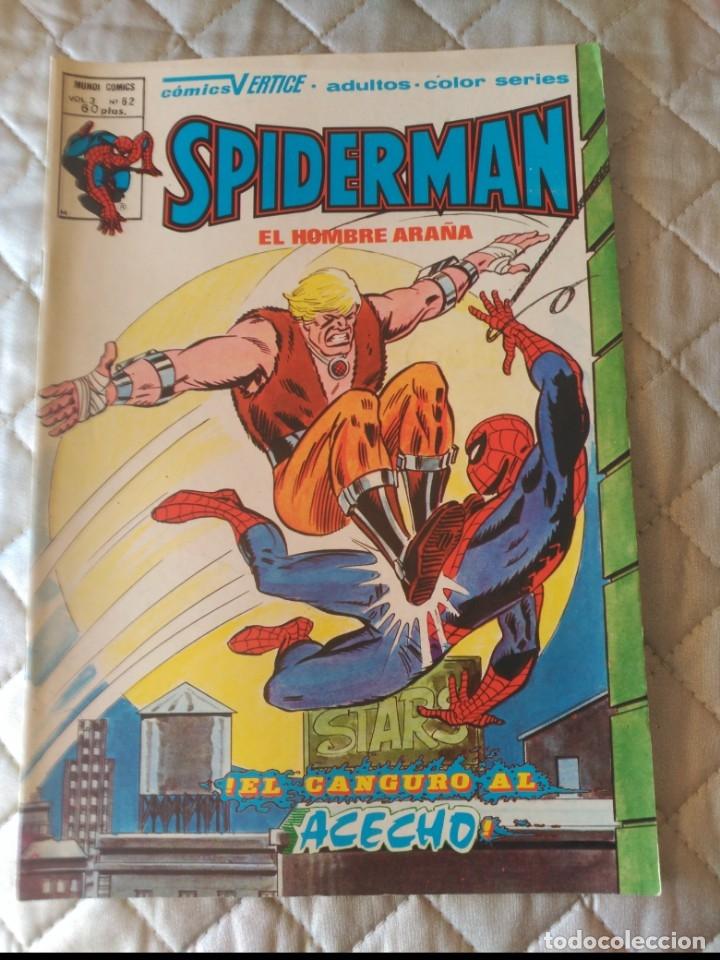 SPIDERMAN VOL.3 Nº62 (Tebeos y Comics - Vértice - V.3)