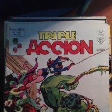 Cómics: TRIPLE ACCION (LOS DEFENSORES) V-1 Nº 21 MUNDI COMICS . Lote 177696222