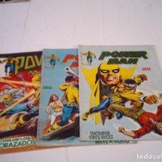 Cómics: POWER MAN -VERTICE - NUMEROS 1, 2 Y 8 - BUEN ESTADO - SURCO - GORBAUD - CJ 112 . Lote 177735308