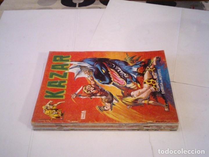 KAZAR -VERTICE - COLECCION COMPLETA - BUEN ESTADO - SURCO - GORBAUD - CJ 112 (Tebeos y Comics - Vértice - Surco / Mundi-Comic)