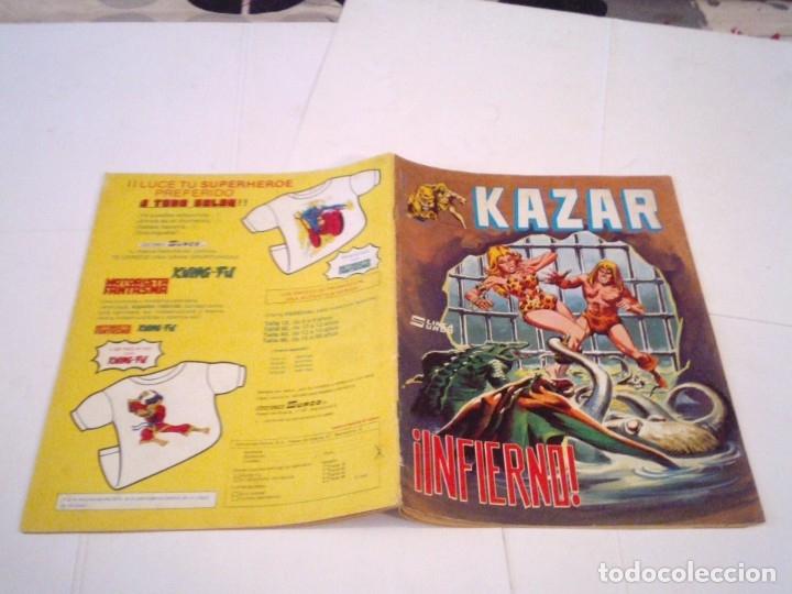 Cómics: KAZAR -VERTICE - COLECCION COMPLETA - BUEN ESTADO - SURCO - GORBAUD - CJ 112 - Foto 9 - 177736170