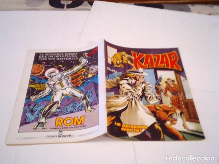 Cómics: KAZAR -VERTICE - COLECCION COMPLETA - BUEN ESTADO - SURCO - GORBAUD - CJ 112 - Foto 14 - 177736170