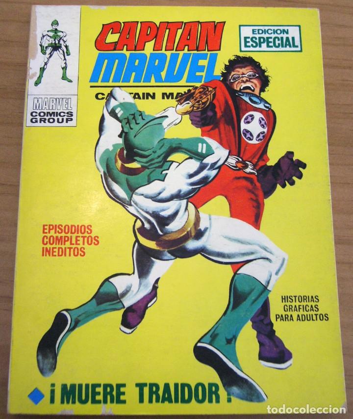 CAPITÁN MARVEL - NÚMERO 4: ¡MUERE TRAIDOR! - AÑO 1969 - BUEN ESTADO (Tebeos y Comics - Vértice - Super Héroes)