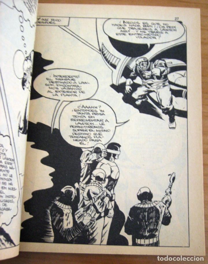 Cómics: CAPITÁN MARVEL - NÚMERO 4: ¡MUERE TRAIDOR! - AÑO 1969 - BUEN ESTADO - Foto 3 - 206825173