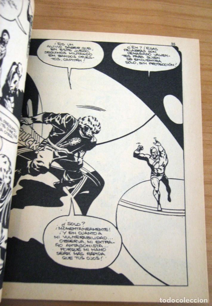 Cómics: CAPITÁN MARVEL - NÚMERO 4: ¡MUERE TRAIDOR! - AÑO 1969 - BUEN ESTADO - Foto 5 - 206825173