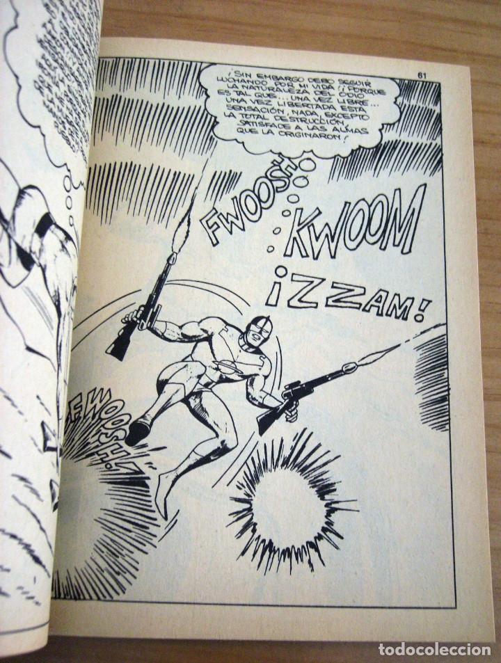Cómics: CAPITÁN MARVEL - NÚMERO 4: ¡MUERE TRAIDOR! - AÑO 1969 - BUEN ESTADO - Foto 7 - 206825173