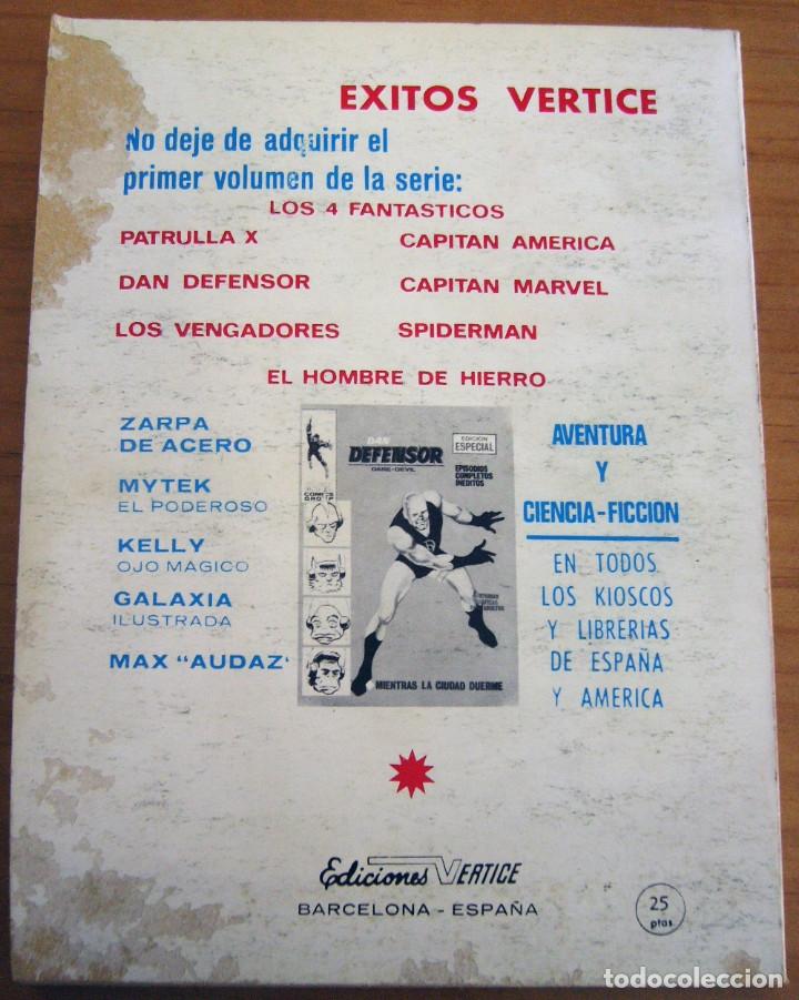 Cómics: CAPITÁN MARVEL - NÚMERO 4: ¡MUERE TRAIDOR! - AÑO 1969 - BUEN ESTADO - Foto 2 - 206825173