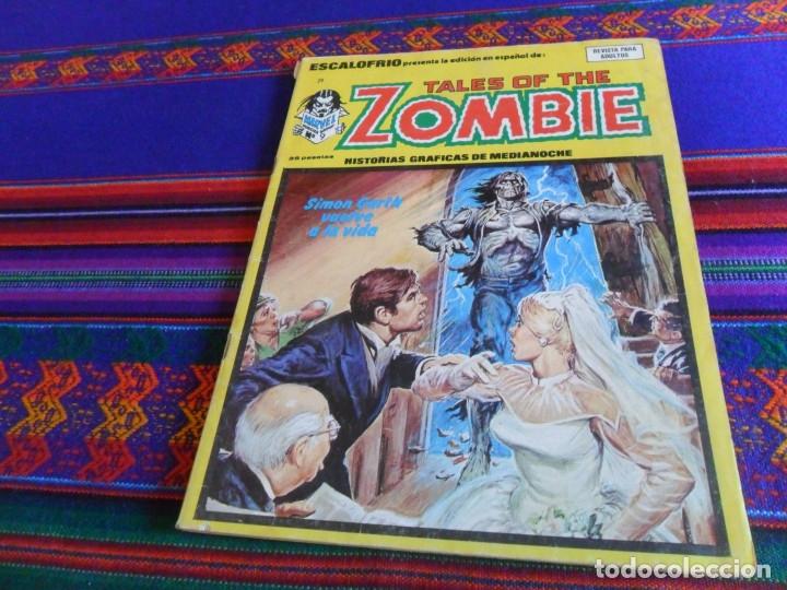 VÉRTICE VOL. 1 ESCALOFRÍO Nº 29 TALES OF THE ZOMBIE Nº 9. 1975. 35 PTS. SIMON GARTH VUELVE A LA VIDA (Tebeos y Comics - Vértice - Terror)