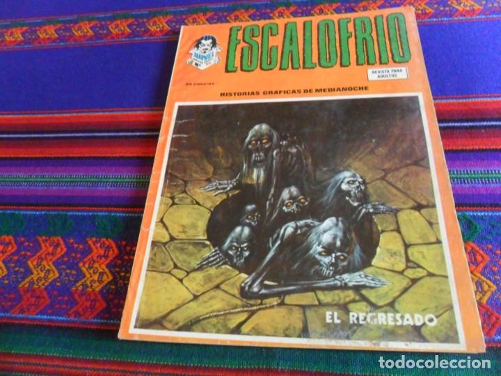 VÉRTICE VOL. 1 ESCALOFRÍO Nº 45. 35 PTS. 1975. EL REGRESADO. MUY DIFÍCIL. (Tebeos y Comics - Vértice - Terror)