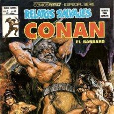 Comics: RELATOS SALVAJES VOL.1 Nº 66 - VÉRTICE. CONAN.. Lote 177892902