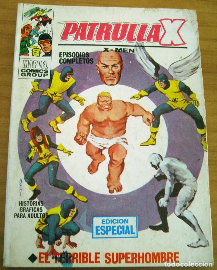PATRULLA X - NÚMERO 3: EL TERRIBLE SUPERHOMBRE - AÑO 1969 - BUEN ESTADO (Tebeos y Comics - Vértice - Patrulla X)