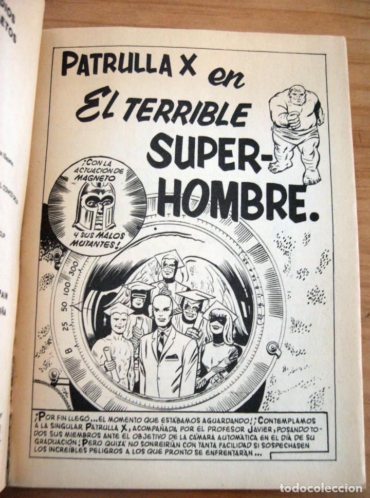 Cómics: PATRULLA X - NÚMERO 3: EL TERRIBLE SUPERHOMBRE - AÑO 1969 - BUEN ESTADO - Foto 3 - 178003400