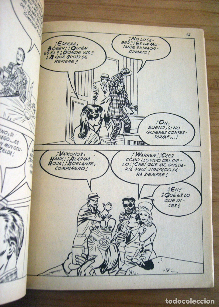 Cómics: PATRULLA X - NÚMERO 3: EL TERRIBLE SUPERHOMBRE - AÑO 1969 - BUEN ESTADO - Foto 7 - 178003400