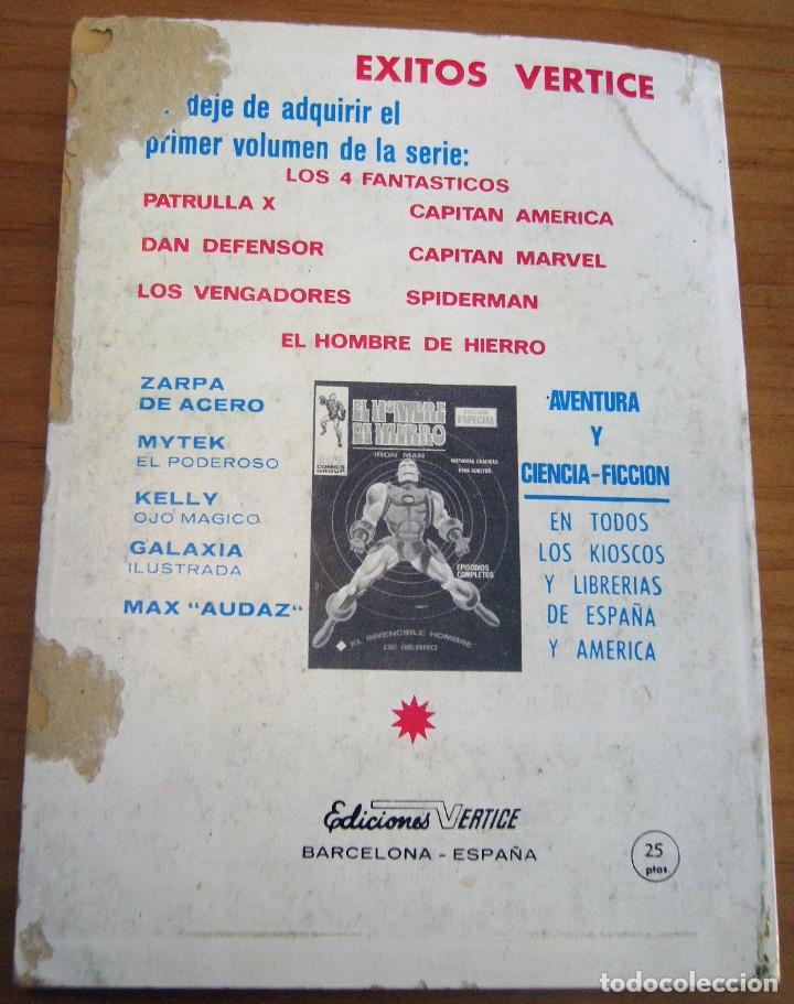 Cómics: PATRULLA X - NÚMERO 3: EL TERRIBLE SUPERHOMBRE - AÑO 1969 - BUEN ESTADO - Foto 10 - 178003400