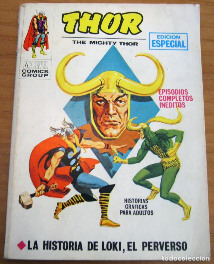 THOR - NÚMERO 8: LA HISTORIA DE LOKI, EL PERVERSO - AÑO 1971 - BUEN ESTADO (Tebeos y Comics - Vértice - Thor)