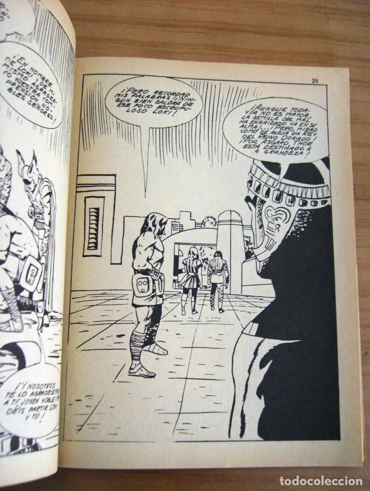 Cómics: THOR - NÚMERO 8: LA HISTORIA DE LOKI, EL PERVERSO - AÑO 1971 - BUEN ESTADO - Foto 4 - 178005312