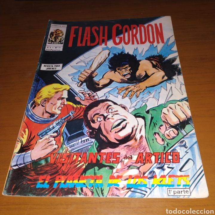 FLASH GORDON V.1 NÚMERO 34, VÉRTICE, CÓMICS ART (Tebeos y Comics - Vértice - Flash Gordon)