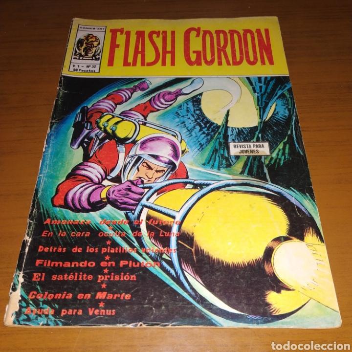 FLASH GORDON V.1 NÚMERO 32, VÉRTICE, COMICS ART (Tebeos y Comics - Vértice - Flash Gordon)