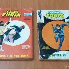 Cómics: LOTE 2 TEBEOS CORONEL FURIA N°2 Y 8 - VERTICE MARVEL, 1971. Lote 178153427