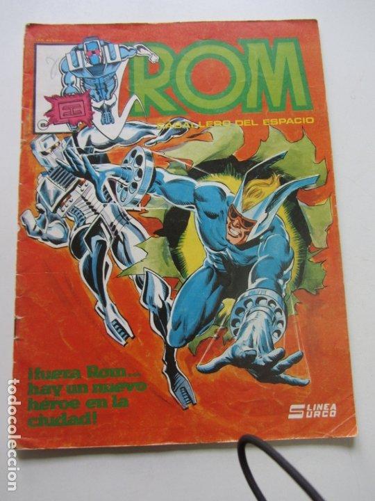 ROM CABALLERO DEL ESPACIO Nº 8 LINEA SURCO / VERTICE 1983 DIFICIL! C28 (Tebeos y Comics - Vértice - Surco / Mundi-Comic)