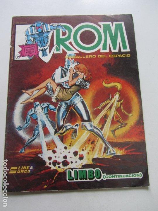ROM CABALLERO DEL ESPACIO Nº 7 LINEA SURCO / VERTICE 1983 DIFICIL! C28 (Tebeos y Comics - Vértice - Surco / Mundi-Comic)